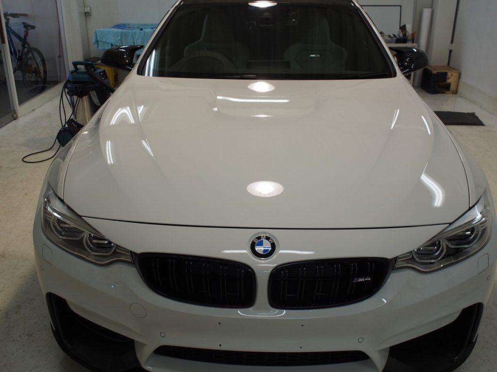 BMW M4 コーティング DPRO ShinePremium from 西宮