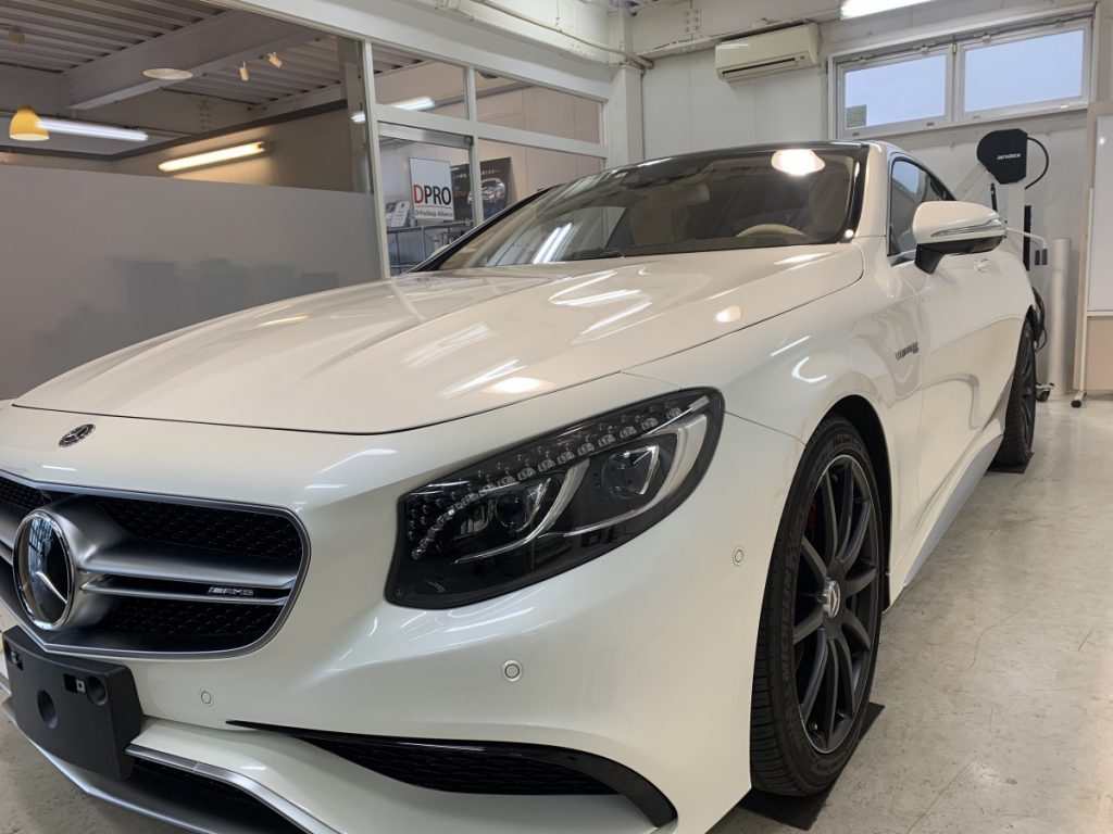 AMG S63クーペ コーティングDPRO Type-RE カーフィルム  from 神戸
