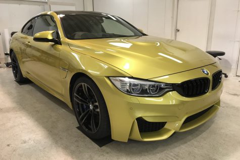 BMW M4 カーコーティング From 兵庫県 西宮