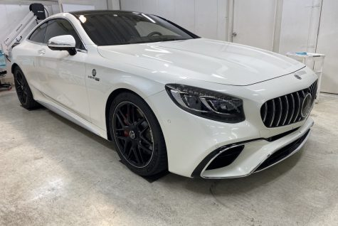 AMG S63クーペ カーコーティング施工 From 兵庫県 宝塚市